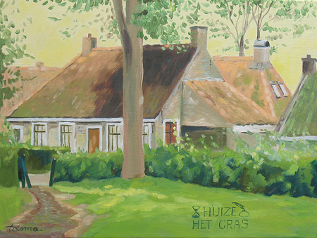 Nader tot reve schilderij huize het gras - Foto van slaapkamer schilderij ...